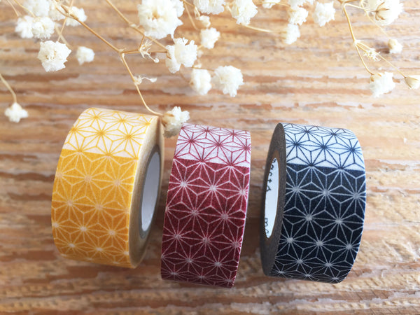 Mark's Japanese Washi Masking Tape - Traditional Japanese Leaves design