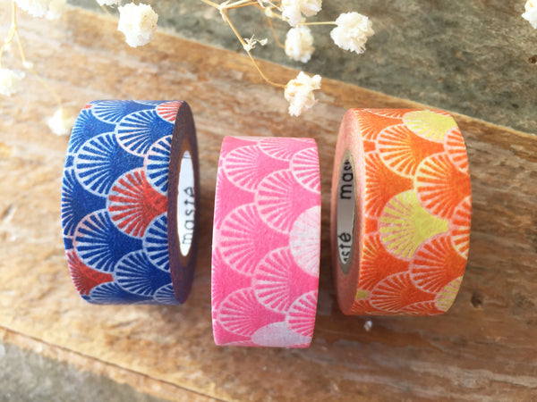 Mark's Japanese Washi Masking Tape - Traditional Japanese Wave design