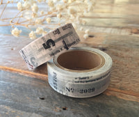 "YOHAKU ""Collection"" and ""Gray"" Collage Original Washi Tapes"