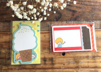 Mizutama's Die-cut  Mini Message Cards at your choice