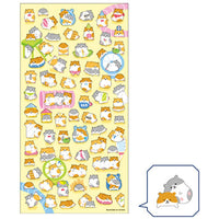 Sheet of Stickers- Panda, Hamsters & Hungry Bears