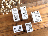 YOHAKU Original Stamps at your choice