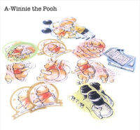 Masking Stickers / Seal bits - Winnie the Pooh, Snoopy, Chip & Dale, Little Mermaid, Alien, Monster Inc.