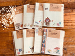 Japanese Letter Set / Writing Paper with Envelope - Retro Nostalgic Japan Series