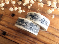 "KNOOP Original Washi Masking Tapes - ""Numbers"" & ""Knots"" at your choice"