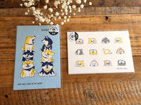 "Cute Set of Postcards- ""Shibanban"" Shibainu"