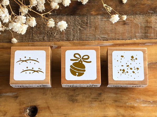 Pretty Japanese Wooden Rubber Stamps