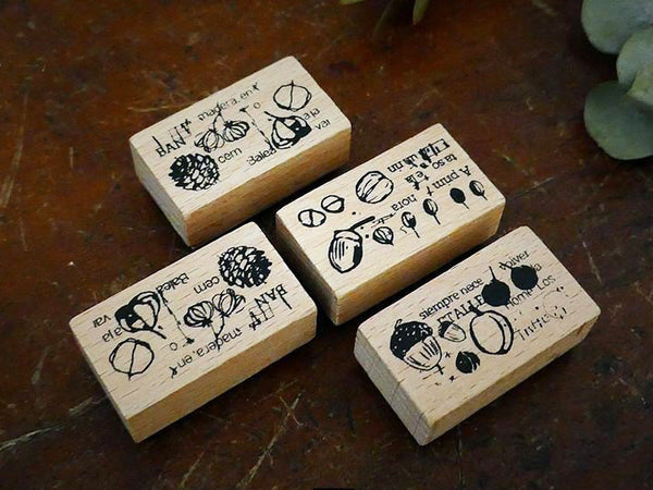 "Little Path / Chamil Garden 5th Anniversary ""Collection of the Woods - ""Fruit Set"""