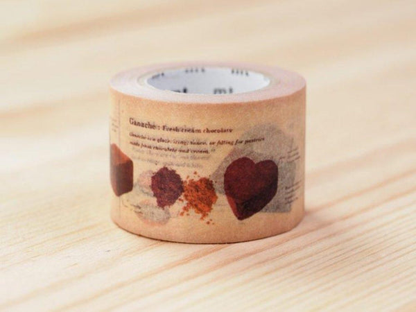 MT ex 2018 Encyclopedia Japanese Washi Tape / Chocolate