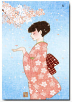 Beautiful Postcards by Chiharu Tachibana at your choice