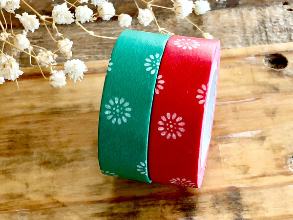 MT 2018 S/S - Japanese Washi Masking Tape / Traditional Japanese Color Series - Little White Flowers