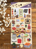 Sheet of Washi Stickers - Traditional Japan Nostalgic Collections