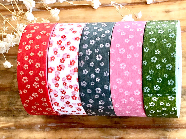 MT 2018 S/S - Japanese Washi Masking Tape / Traditional Japanese Color Series - Plum Flowers