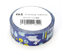 Limited Edition mt Japanese Washi Masking Tape - Pattern of the North Country 15mm