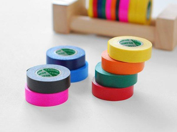 Japanese Masking Tapes pack of 8 / Primary Colors - 15mm x 18m