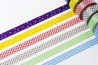 1 DOLLAR SALE - MT 2012 Japanese Washi Masking Tapes / Traditional Japanese Pattern (Hail Dots) for packaging, party deco, card making