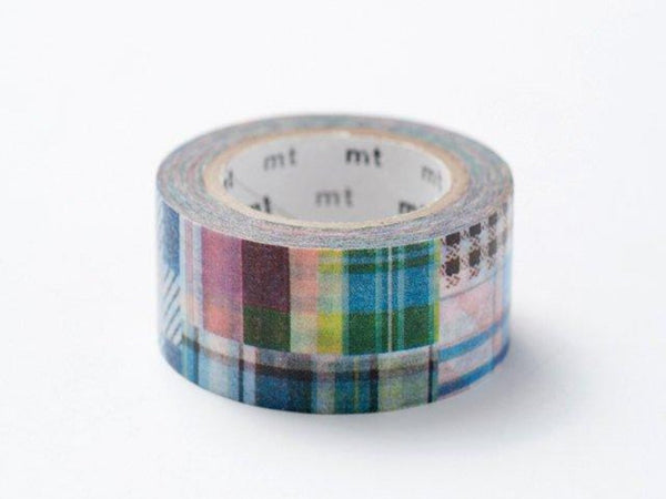 On Sale - MT ex 2012 Autumn Japanese Washi Masking Tape / Patchwork