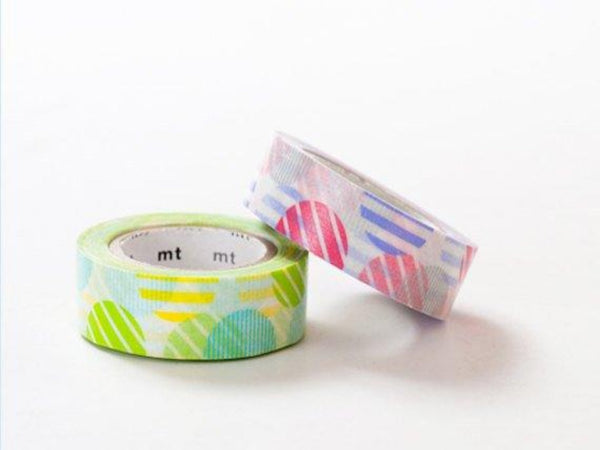 2 DOLLAR SALE-Discontinued  MT 2013 Single Japanese Washi Masking Tapes / Pink or Green Arch