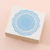 Pretty Japanese Bridal stamp - Doily Lace for wedding invitation, party favor, gift wrapping, card making