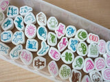 Petit Collection Japanese Foam Stamps at your choice