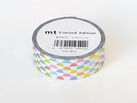 Limited Edition mt Japanese Washi Masking Tape - Foil Stamped Trapezoid
