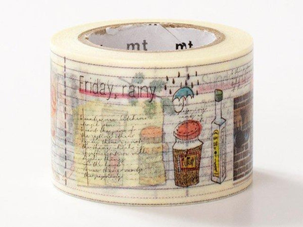 MT ex 2014 Encyclopedia Japanese Washi Tape / Cooking Diary