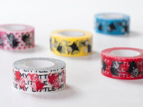 On Sale - Moomin & Friends Series Japanese Washi Masking Tapes / Little My