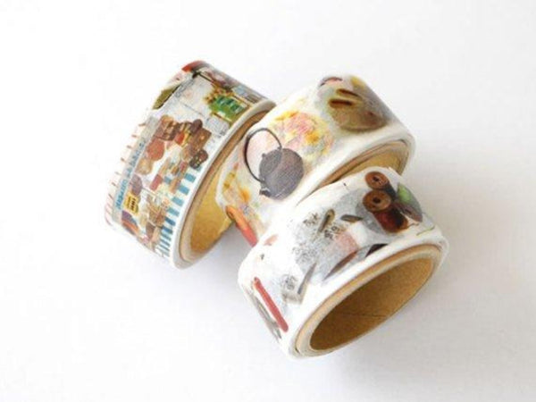 Yano Design Die-Cut Japanese Washi Masking Tape / Autumn Series at your choice