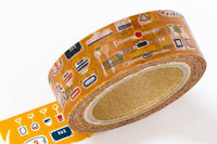 Space Craft Japanese Washi Masking Tape / Flea market for labeling, scrapbooking, packaging