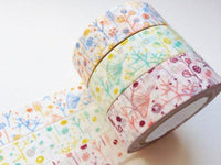 Classiky Japanese Washi Masking Tapes - Butterfly in Bush