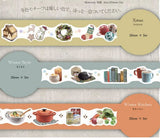 Yano Design Die-Cut Japanese Washi Masking Tape / Winter Series