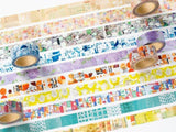 Discontinued-Japanese Washi Masking Tape - Little Path / Chamil Garden Vol.5