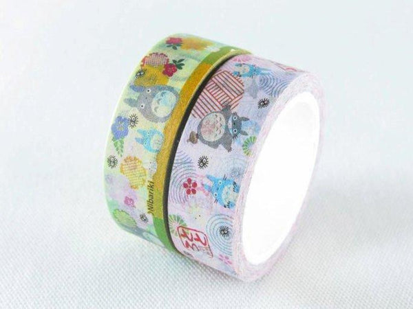 Ghibli Goods Washi Masking Tape set of 2 / My Neighbor Totoro