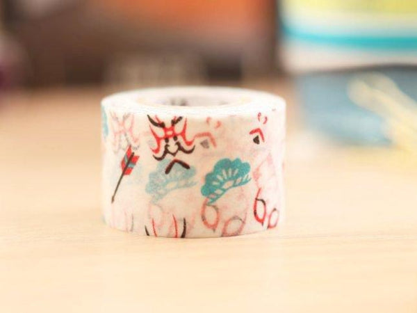 Mark's Japanese Washi Masking Tape - Japan Series-Kabuki