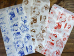 Moomin Wax Paper Bags (277x155mm) for holiday gift wrapping, party birthday favor, food and goods wrapping