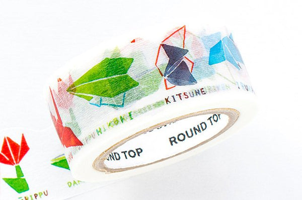 Space Craft Die-Cut Japanese Washi Masking Tape / Origami for birthday, scrapbooking, packaging, decoration, party favor