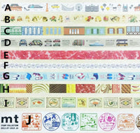 Limited Edition mt Japanese Washi Masking Tape set - mt Expo 2015 Kobe - Kobe Sweets 15mm