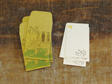 Classiky Toranekobonbon Note Card & Envelope Set - Cat (S)