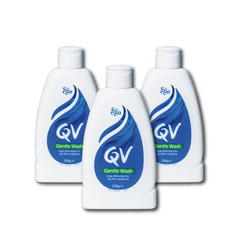 QV Gentle Wash 250ml Triple Pack