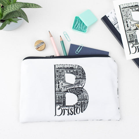Bristol Mini Bag - Make Up Bag - Pencil Case