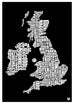 British Isles Food Map
