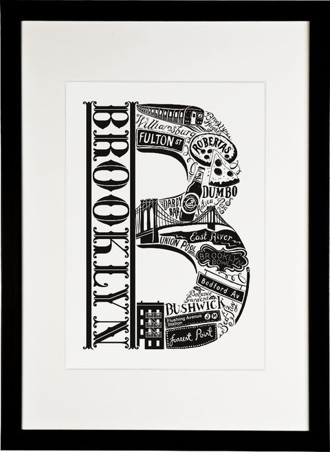 Brooklyn New York print