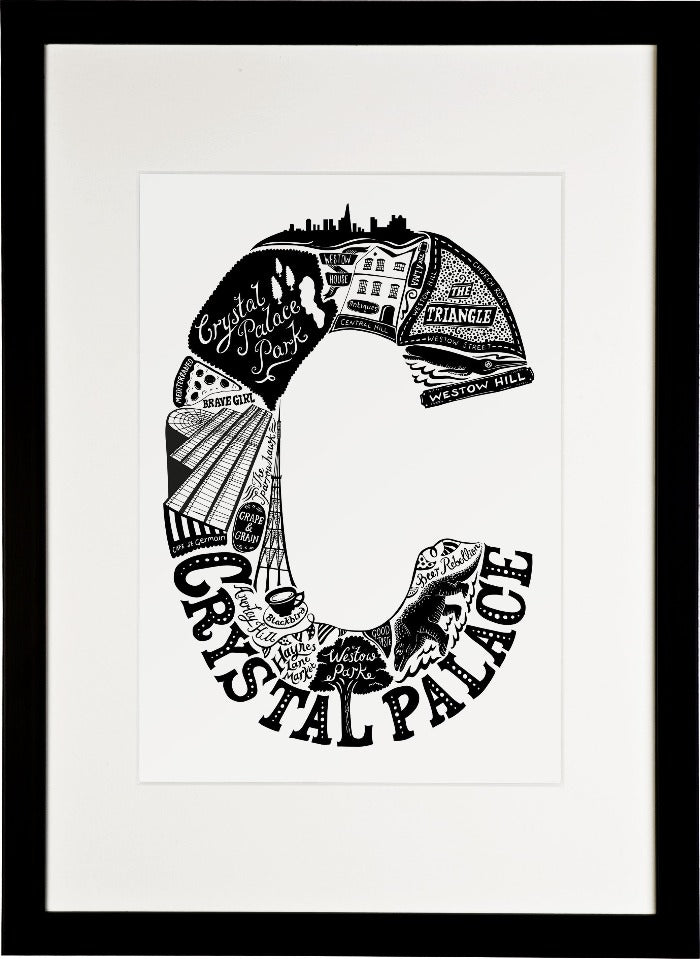 Crystal palace print lucy loves this crystal palace print 3200 framing jeuxipadfo Gallery