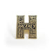 Hackney enamel pin badge