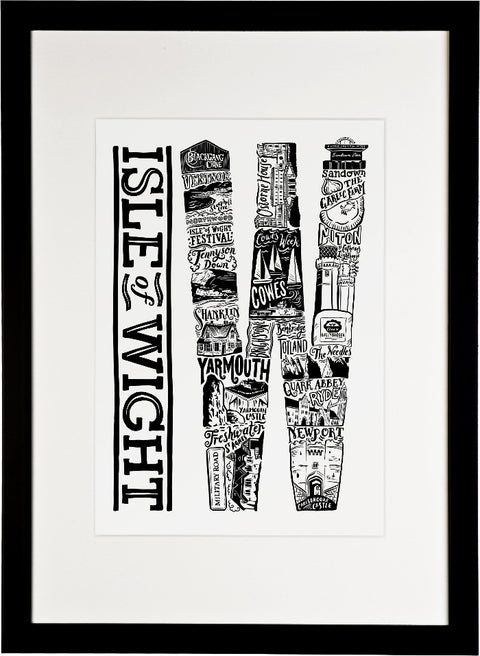 Isle of Wight print