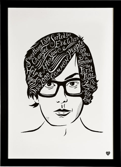 Jarvis Cocker, British Musician print