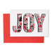 Pack Of Four Typographic Christmas Cards
