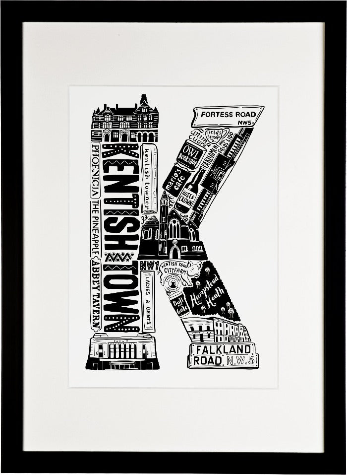 Kentish Town print