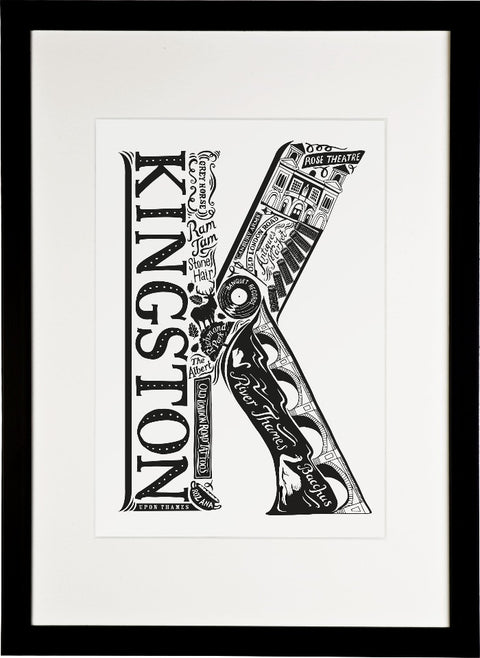 Kingston London print