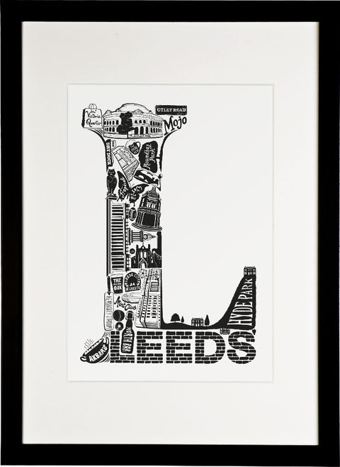 Leeds Print  - for delivery w/c 8th June